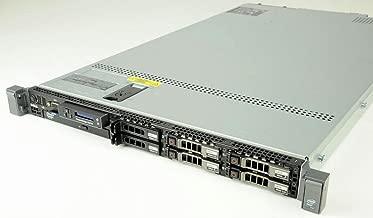 DELL PowerEdge R610 1U 64-bit Server + 2×Quad-Core X5687 Xeon 3.6GHz + 72GB PC3-10600 ECC DDR3 RAM + 6×1TB 7.2K SAS 2.5