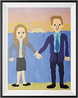 My Party Shirt Jim & Pam Wedding Poster The Office Michael Scott Painting Dunder Mifflin 18x24