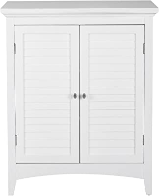Elegant Home Fashions Adriana Floor Cabinet with 2-Shutter Door