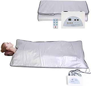 Digital Heated Sauna Steamer Blanket, Professional Anti Ageing Slimming Relieve Physical Fatigue Home Use Salon Spa Beauty Tool (Popular Type3)