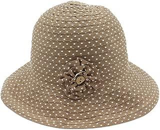 LiWen Zheng Fashion Spring And Summer Sun Hat Ladies Sunscreen Folding Straw Basin Cap Outdoor Travel Fisherman Hat Dome Wide Hat