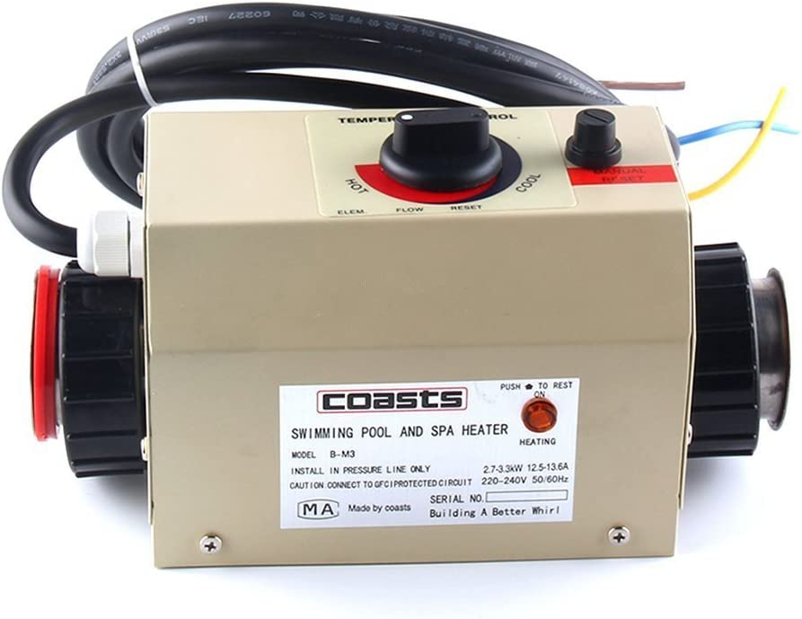 cjc Water NEW before selling ☆ Heater Thermostat 220V Courier shipping free Swimming Pool 3KW SP