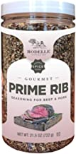Rodelle Prime Rib Seasoning for Beef & Pork Kosher and Gluten Free and, 21.5oz