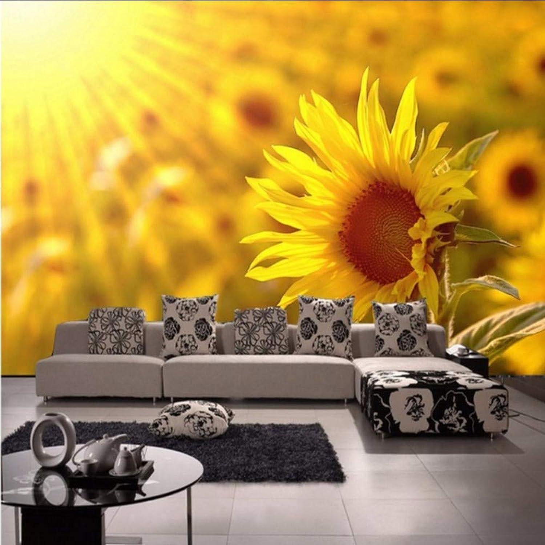servicio honesto Yologg Papel Papel Papel Tapiz Fotográfico Estéreo 3D Personalizado Salón Girasol Tv Fondo De Parojo Mural Dormitorio Estudio Vestíbulo Papel Tapiz-200X140Cm  oferta de tienda