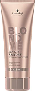 BLONDME Keratin Restore Bonding Conditioner for All Blondes, 6.76-Ounce