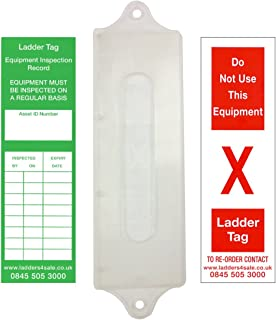 25 mm H x 45 mm W Pack of 100 Orange Signs and Labels AMZRESLMZRECAPLY100O Rectangular Ply Tag
