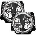AD Tuning GmbH & Co. KG 960321 Angel Eyes Fernscheinwerfer Set, Klarglas Chrom