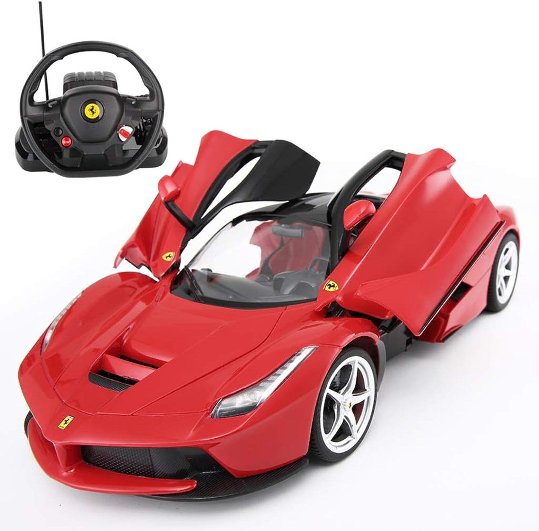 Radio control racing mit led-leuchten, 1 14 elektrische mini lithium-batterie auto modell drahtlose steuerung super sport auto junge mdchen geschenk (gre   B)