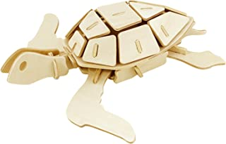 Hands Craft JP295 DIY 3D Wooden Puzzles (Sea Turtle)