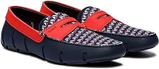 حذاء لوفرز للرجال من ماركة سوميز ، كحلي