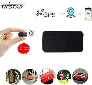 Mini GPS,TKSTAR Mini GPS Tracker Magnetic Micro GPS Tracking Anti Theft Real Time GPS Tracker Portable GPS Locator Handbag Wallet Pockets School Bag Important Documents Lost Finder Tracker Free APP