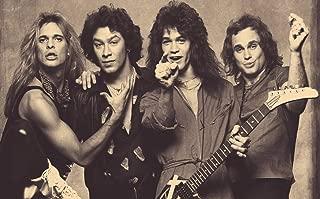bribase shop Van Halen Classic Rock Star Band poster 40 inch x 24 inch