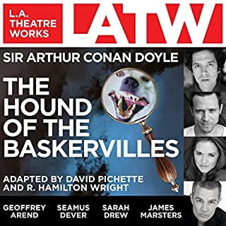 The Hound of the Baskervilles (Dramatized) audiobook cover art