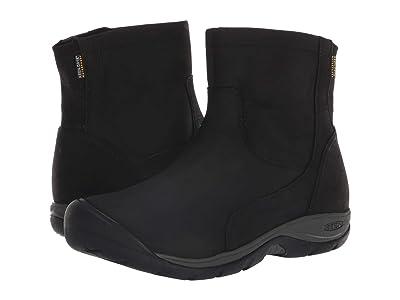 Keen Presidio II Waterproof Mid Zip Boot (Black/Magnet) Women
