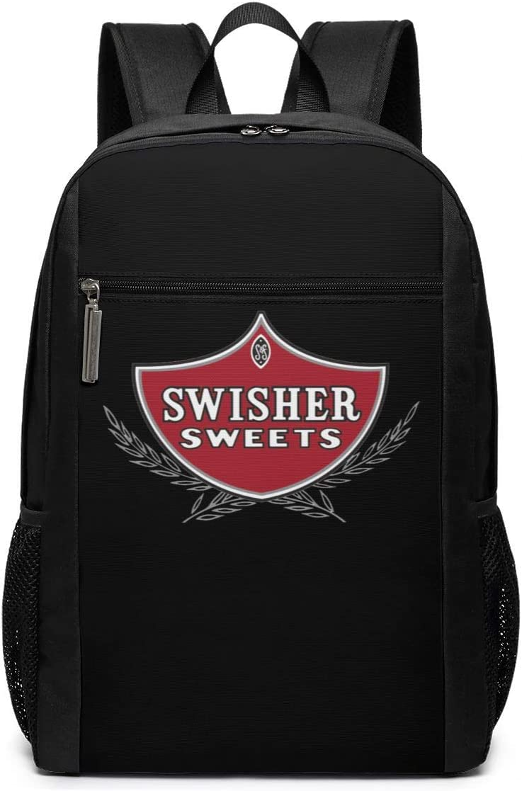 Lightweight Swisher Sweets Multi-Function College School Laptop Bookbag 17 Inches