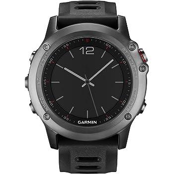 Garmin Fenix 3 GPS Fitness Watch Gray (010-N1338-00) (Renewed)