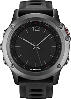Garmin Fenix 3 GPS Fitness Watch Gray (Renewed)