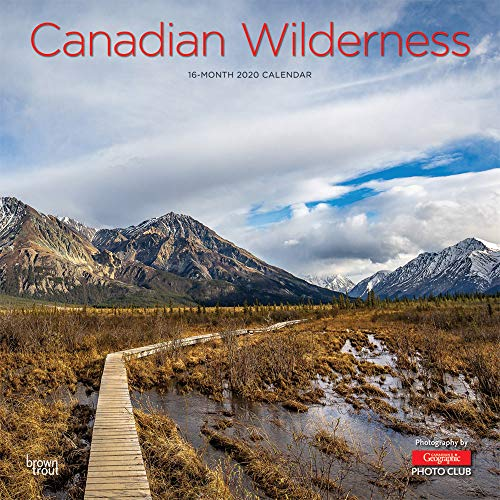 Canadian Wilderness Wild & Scenic 2020 Square Wall Calendar