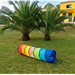 NUBUNI XL Tunnel for Kids 71 in. : Play Tunnel : Play Tunnels for Children : Kids Tunnel : Baby tunnel : Pop Up Tunnel…