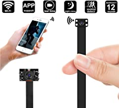 Wi-Fi DIY Camera Mini 1080p HD Night Vision Wireless IP Camera Nanny Cam Motion Detection Wireless IP Security Wall Mount Home Camera Remote Control Android iOS Free App