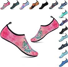 welltree Womens Mens Water Shoes Barefoot Aqua Socks for Outdoor Beach Swim Yoga Exercise