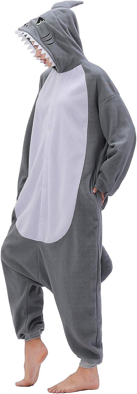 Adult Shark Onesies Pajamas Cosplay Large special Superlatite price Sleepwear Animal Ju Homewear