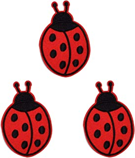 Butie.Dozens of Optional Patches/Iron Collage Slogans Cartoon Fruit Patch Jackets for Shirts, Skirts, Sewing or Iron Patches for Clothing Backpacks, (3pcs-T111)