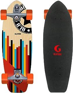 Glutier Surfskate with T12 Surf Skate Trucks Old S...