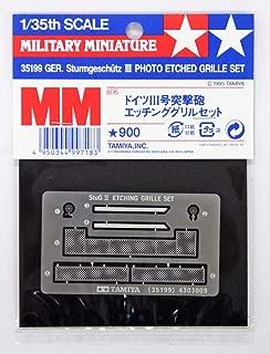 Tamiya 1/35 Military Miniature German StuG III Etching Grill Set 1/35 35199 Plastic