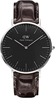 Daniel Wellington Classic York Watch, Italian Brown Leather Band