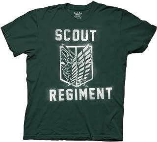 Ripple Junction Attack on Titan Splatter Paint Scout Regiment Adult T-Shirt