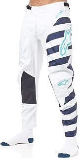 Alpinestars Racer Braap MX Pants 34 inch Cool Gray Dark Navy Teal