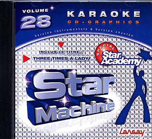 CD(G) Karaoké Lansay Star Machine Vol. 28 'Star Academy 6'