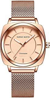 Long Story Women Quartz Watch Ladies Fashion Light Luxury Square Waterproof Watch Stainless Steel Strap