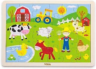 VIGA 24 pcs Puzzle(Farm)