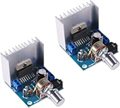 TDA7297 15W+15W Digital Amplifier Module, 30W Audio Power 12V DC Mini Stereo Amp Amplify Dual Channel Power Stereo for DIY Sound Amplify System Component Home Car Vehicle Auto Computer Speaker-2 Pack