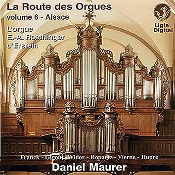 La route des orgues, Vol. 6 : L'orgue Roethinger d'Erstein