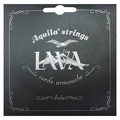 Aquila AQ U LS 113U Lava Series Ukulele Set (Concert, low-G, wound)