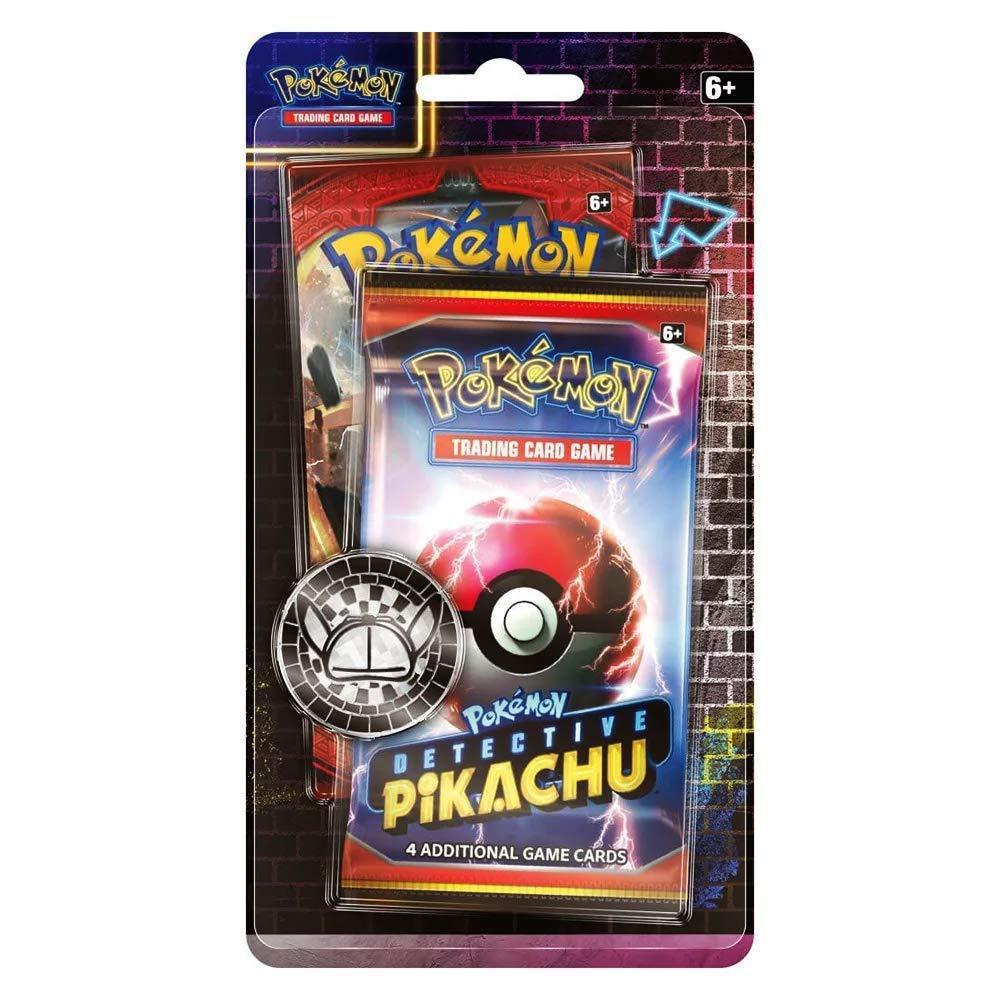 Pokemon TCG Detective Pikachu Metallic