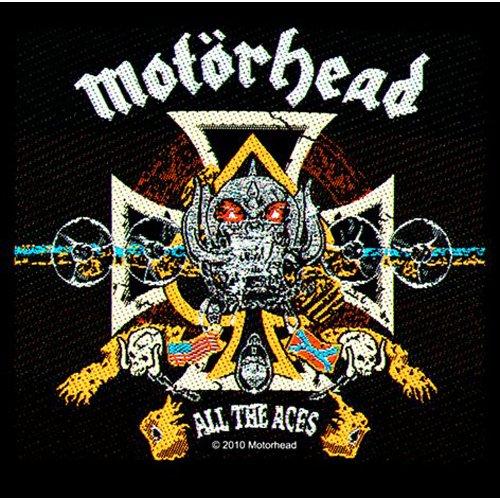 Motörhead - Aufnäher All the Aces (in 10 cm)