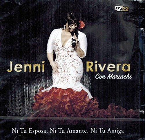 Jenni Rivera Con Mariachi: Ni tu esposa, Ni tu amante, Ni tu amiga Lizos Musical-776076)