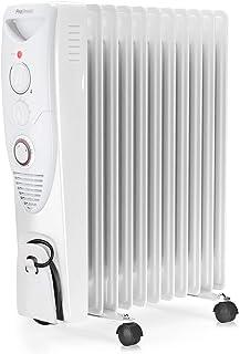 Pro Breeze 2500W Oljefyllt Element, 11 Värmefenor - Bärbar Elektrisk Värmare - Inbyggd Timer, 3 Värmeinställningar, Juster...
