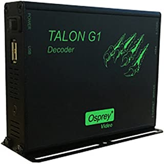 Osprey Video Talon G1 Decoder | Hardware Based H.264 Video Streaming Decoder