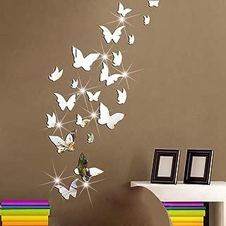 mirror butterfly decals