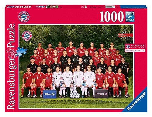 Ravensburger 19121 - FC Bayern München Saison 2011/2012 - 1000 Teile Puzzle