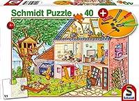 Die fleißigen Handwerker, 40 Teile, mit Add-on (Werkzeug-Set): Kinderpuzzle Standard mit Add-On, 40 Teile
