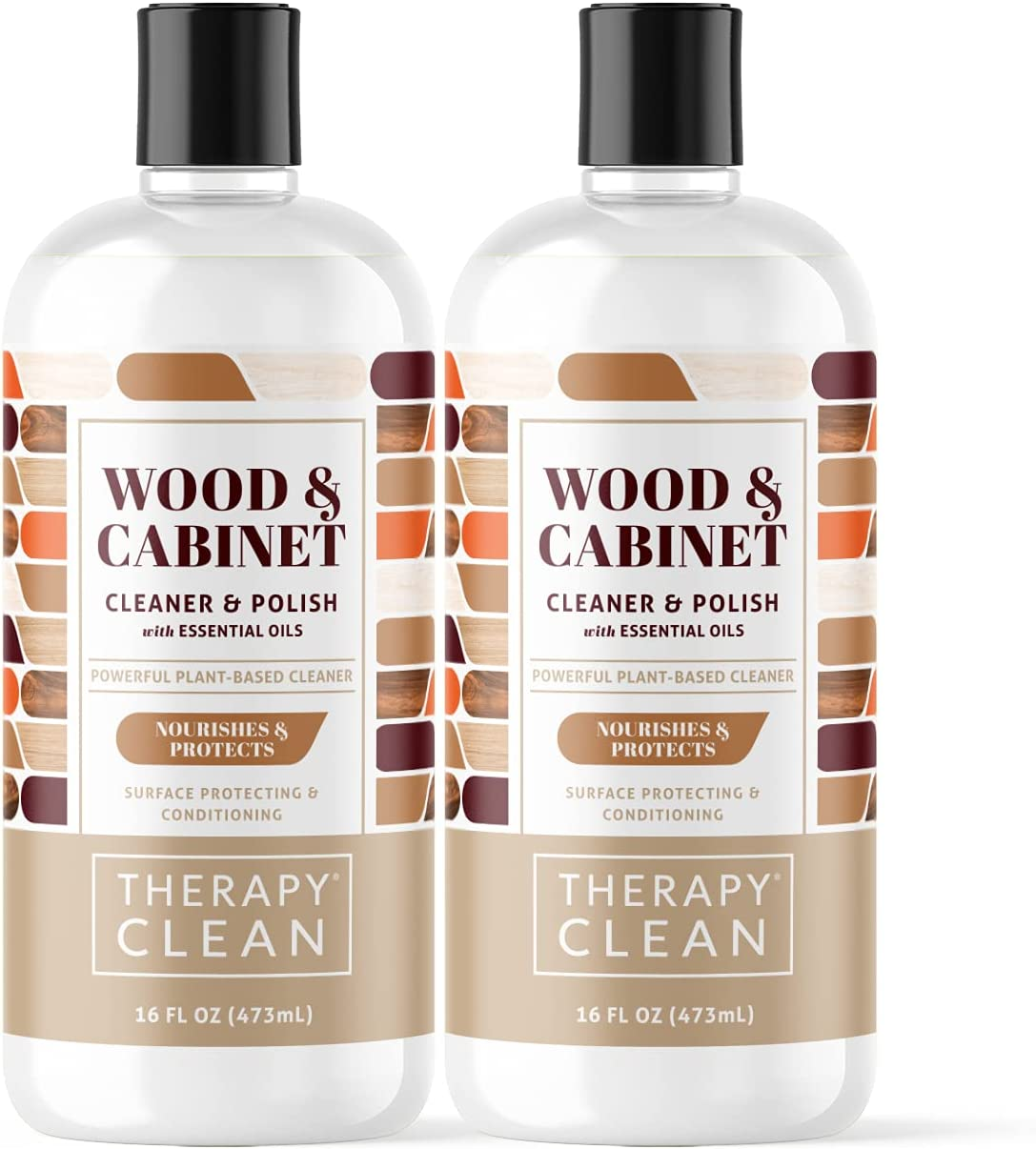 Therapy Wood Cabinet Cleaner 16 oz. - Year-end Over item handling annual account 2 Con Plant-Based Pack