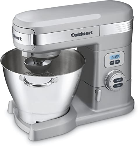 new arrival Cuisinart SM-55BC 5-1/2-Quart high quality sale 12-Speed Stand Mixer, Brushed Chrome online sale