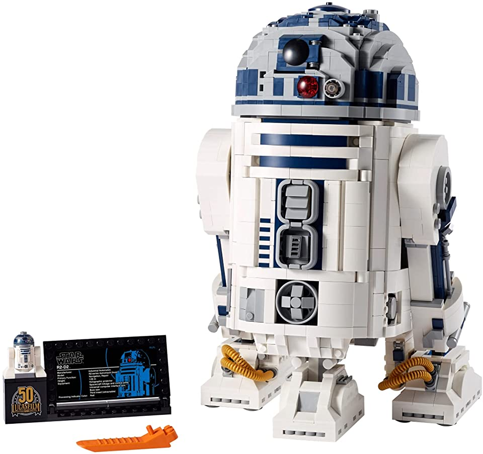 LEGO Star Wars: R2-D2 75308 Building Model and Collectible Minifigure(2,314 Pieces)
