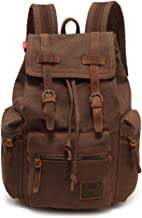 backpacks canvas leather